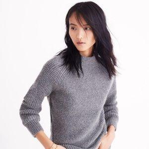 Madewell Northfield Mockneck Pullover Sweater